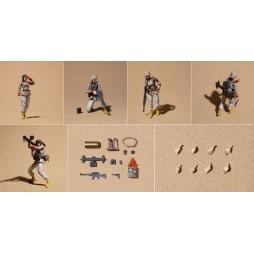 Kido Senshi Gundam 0079 - Mobile Suit Gundam 0079 - Gundam Military Generations - Action Figures - EARTH UNITED ARMY Fem