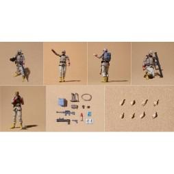 Kido Senshi Gundam 0079 - Mobile Suit Gundam 0079 - Gundam Military Generations - Action Figures - EARTH UNITED ARMY Sol