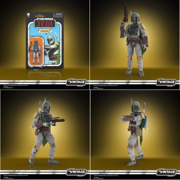 Star Wars - The Black Series - The Vintage Collection 3.75 Inch Action Figure - Kenner- Episode VI - Boba Fett - Hasbro