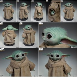 Star Wars - The Mandalorian - 1:1 Lifesize Prop Replica - The Child Grogu Life Size Statue (Grandezza Reale)