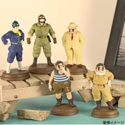 Studio Ghibli - Porco Rosso - Trading Figure SET - Complete 5 Figure Set 5 cm