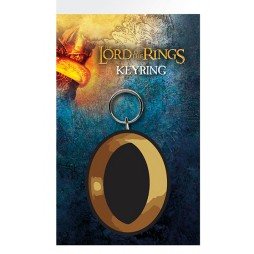 Lord Of The Rings - Il Signore degli Anelli - Keyring 2D - The One Ring - Rubber - Portachiavi