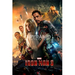 Marvel Comics - Poster - Iron Man 3 - One Sheet