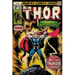 Marvel Comics - Poster - The Mighty Thor - Retro Comic