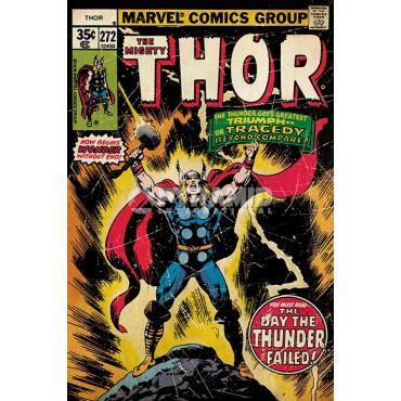 Marvel Comics - Poster - The Mighty Thor - Retro Comic