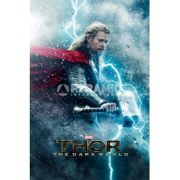 Marvel Comics - Poster - Thor 2 The Dark World Movie - Teaser