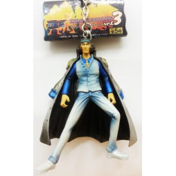 One Piece - Keyring - Hi Grade Coloring Key Holder Vol. 3 - SET - Aokiji