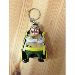 One Piece - Keyring - SET - Barbanera