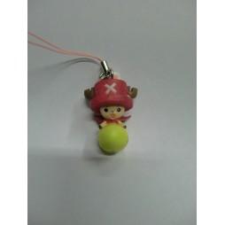 One Piece - Strap - Deformed Figure Celphone Strap - Easter Chopperman - SET - Chopper Su Uovo Giallo