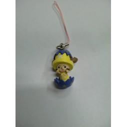 One Piece - Strap - Deformed Figure Celphone Strap - Easter Chopperman - SET - Chopper Uovo Stelle