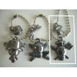 One Piece - Strap - Keychain - Metal Charme 2 DARK Vers. - SET - SANJI