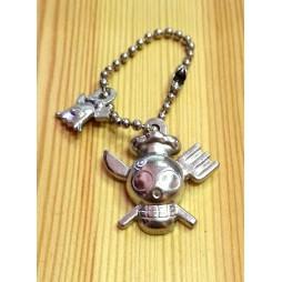 One Piece - Strap - Keychain - Metal Charme 2 SILVER Vers. - SET - SANJI