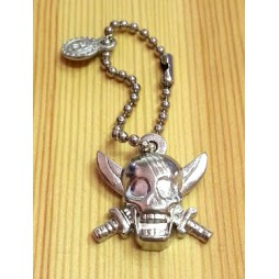One Piece - Strap - Keychain - Metal Charme 2 SILVER Vers. - SET - SHANKS