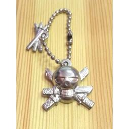 One Piece - Strap - Keychain - Metal Charme 2 SILVER Vers. - SET - ZORO