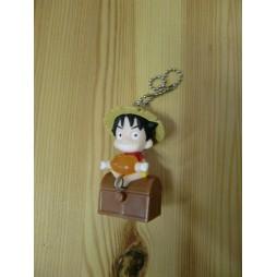 One Piece - Strap - Keychain - Mugiwara Chase Light Mascot - SET - Luffy