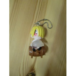 One Piece - Strap - Keychain - Mugiwara Chase Light Mascot - SET - Sanji