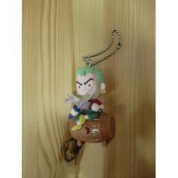 One Piece - Strap - Keychain - Mugiwara Chase Light Mascot - SET - Zoro