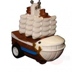 One Piece - Strap - Keychain - One Piece Ships Mascot Charme - SET - Barbabianca