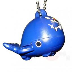 One Piece - Strap - Keychain - One Piece Ships Mascot Charme - SET -Lobo (Bandiera Blu) One Rabun Whale