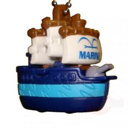 One Piece - Strap - Keychain - One Piece Ships Mascot Charme - SET -Marina