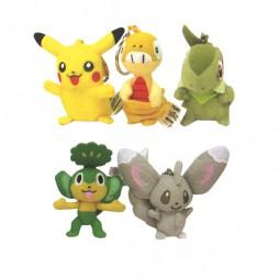 Pokemon Portachiavi Peluche SET