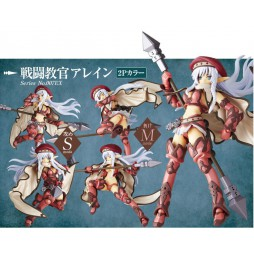 Revoltech - Queen\'s Blade - 007EX - Alleyne 2P Color