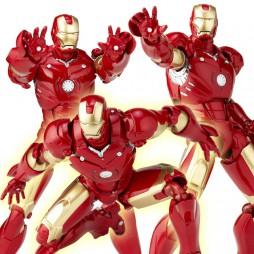 Revoltech - Sci-Fi - 036 - Iron Man Mark III Kaiyodo