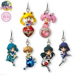Sailor Moon - Strap - Twinkle Dolly Sailor 2 Strap - SET - Complete Set Of 6