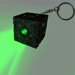 Star Trek - The Next Generation - Keyring 3D - Portachiavi - Borg Cube Light Torch