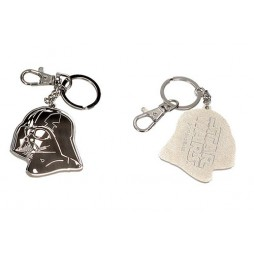 Star Wars - Keyring - Portachiavi - Darth Vader 2D Metal Keyring