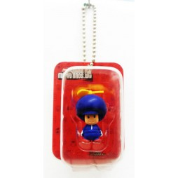 Super Mario - Keychain - Blister Figure Set - Propeller Toad Blu