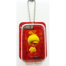 Super Mario - Keychain - Blister Figure Set - Propeller Toad Giallo