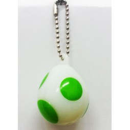 Super Mario Bros Wii - Keychain - Light Up Figures Set - Uovo di Yoshi