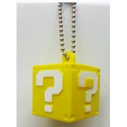 Super Mario Bros Wii - Keychain - Light Up Figures Vol. 1 Set - Cubo interrogativo