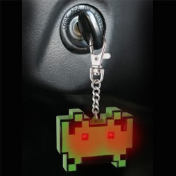 Video Games - Keyring 3D - Portachiavi - Space Invaders Light Torch