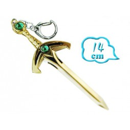 Zelda - Keyring 3D - Metal - Portachiavi - Spada Link Keyring