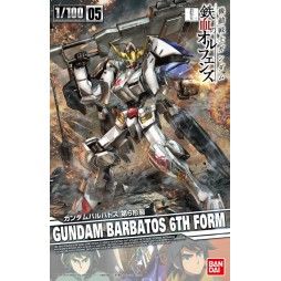 Gundam 1/100 05 - GUNDAM BARBATOS 6TH FORM Iron-Blooded Orphans