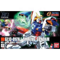 HG Future Century HGFC - GF13-017NJ Shining Gundam 1/144