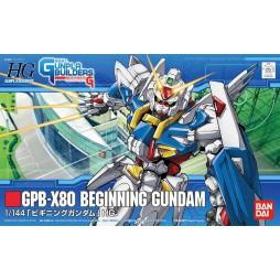 HG Gunpla Builders 001 - GPB-X80 Beginning Gundam 1/144