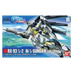 HG Gunpla Builders 002 - RX-93-V2 Hi-V Gundam GPB Color 1/144