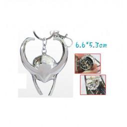 Marvel Comics - Keyring - 3D Metal + Clock - Loki Silver Helmet