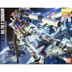 MG Master Grade - RX-78-2 Gundam Ver. 3.0 - E.F.S.F. Prototype Close-Combat Mobile Suit 1/100