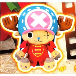 One Piece Plush - Film Z Maneko - Chopper Plush X Vol.1 ZORO - Peluche 28 cm
