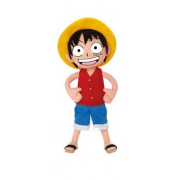 One Piece Plush - Luffy Rubber Cappello di Paglia - Peluche 30 cm in Blister