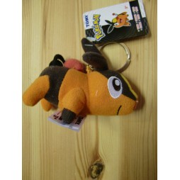 Pokemon Plush - Mini Keyring - Tepig - Mini Peluche Portachiavi 10 cm