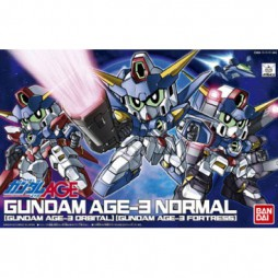 Super Deformed - Gundam Age-3 Normal-Orbital-Fortress