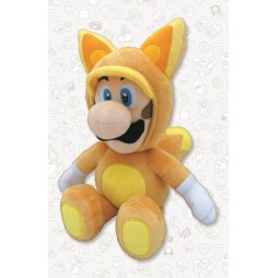 Super Mario Series Plush - FOX Luigi - Peluche 25 cm