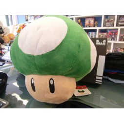 Super Mario Series Plush - Mushroom 1 UP Green - Peluche 30 cm