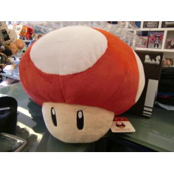 Super Mario Series Plush - Mushroom Super Red - Peluche 30 cm