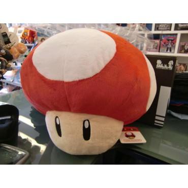 Super Mario Series Plush - Mushroom Super Red - Peluche 30 cm
